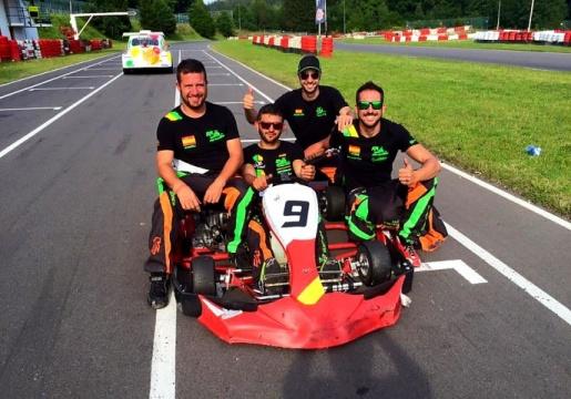 El chasis EKR logra la tercera plaza en las 24 horas de Spa de Karting