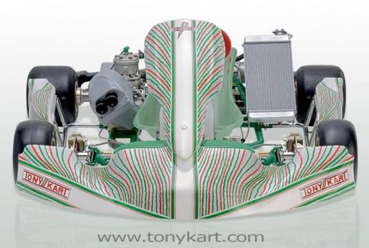 Racer 401 y Krypton 801 - Listos para saltar a la pista los últimos modelos de Tony Kart