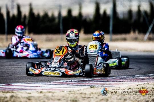 Europeo KZ2 en Zuera – Victoria y liderato para Pedro Hiltbrand.