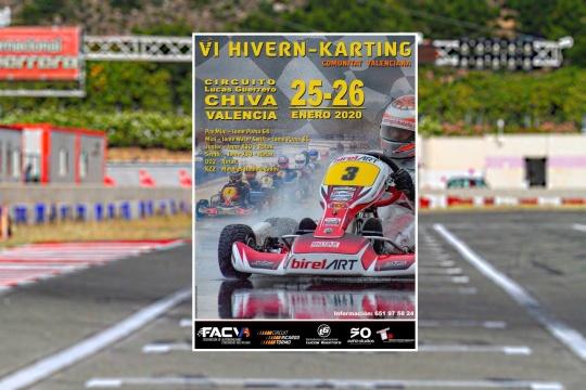 La temporada 2020 calienta motores con el VI Hivern-Karting