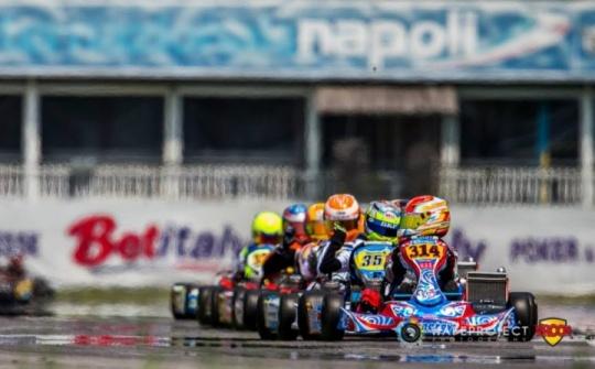 """WSK - Cuatro españoles en el """"top ten"""", Genís Cívico roza el podio."""