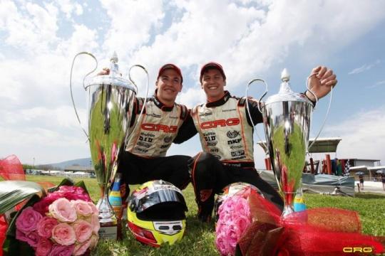 Campeonato de Europa KZ2 - Pedro Hiltbrand pisa fuerte y sube al podio.