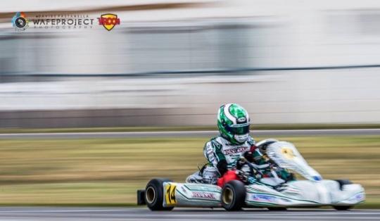 Europeo KZ - Flavio Camponeschi lidera el doblete Tony Kart.