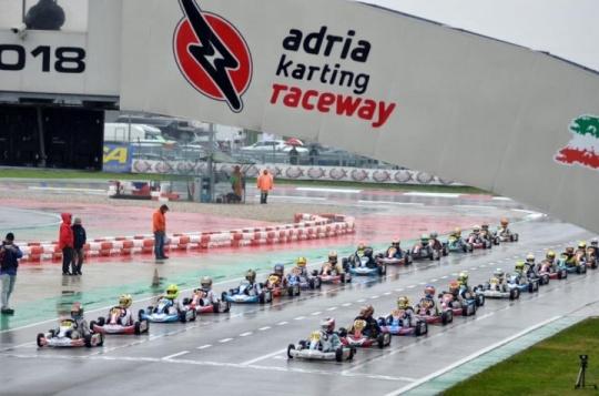 La WSK Final Cup 2018 concluyó en Adria