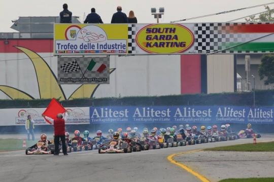 Españoles en el 45 Trofeo de la Industria