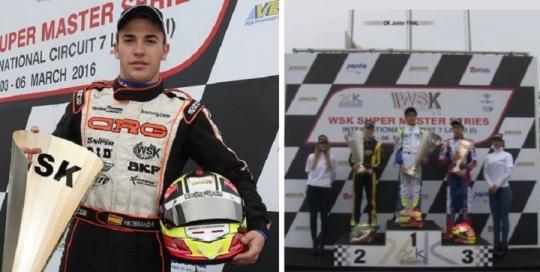 WSK - El karting español brilla en Italia