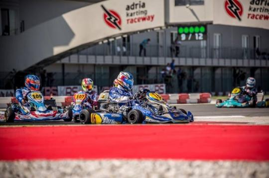 Super Master Series KZ/KZ2 - Gran actuación de Jorge Pescador en Adria