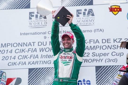 Marco Ardigó nuevo campeón del Mundo en KZ