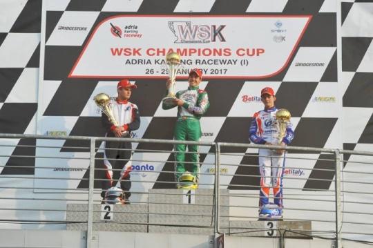 """WSK Champions Cup OK - Pedro sigue siendo el """"rey"""""""