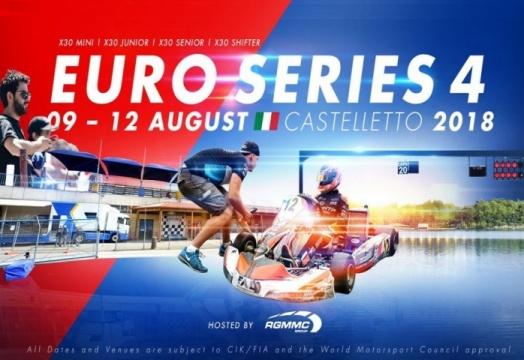 Euro Series Iame - El karting español a por podios y título en Castelletto