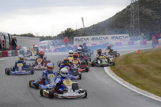 Karting regional - Buen arranque en la Comunidad Valenciana, Asturias y Andalucía.