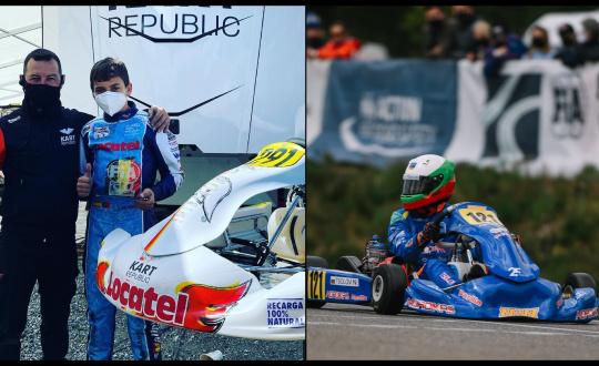 Europeo Genk - Top 12 para Malheiro en OK-J, DPK acarició el podio en OK