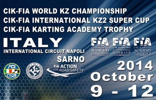 Campeonato del Mundo KZ - Todas las miradas en Sarno