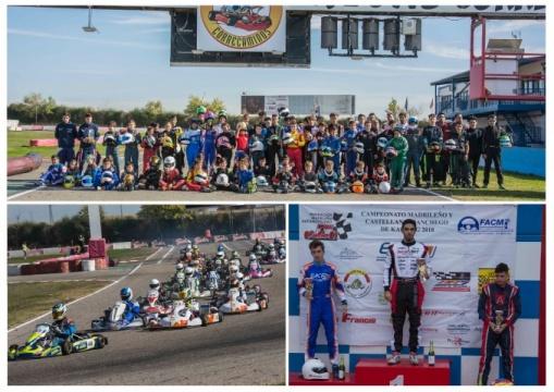El Madrileño y Castellano-Manchego de Karting 2018 ya tiene campeones