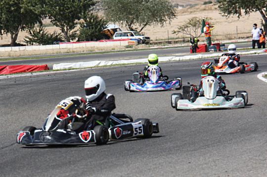 El Campeonato Madrileño de karting alcanzó su ecuador en Recas
