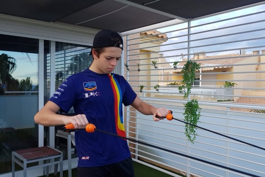 Entrenando en casa - Daniel Briz