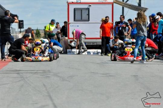Los campeonatos regionales de karting avanzan en su camino