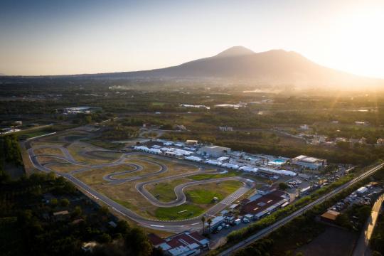 Campeonato de Europa FIA Karting OK/OKJ - A remontar en Sarno