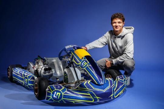 Nace LN Four, el chasis de Lando Norris fabricado por el grupo OTK Kart
