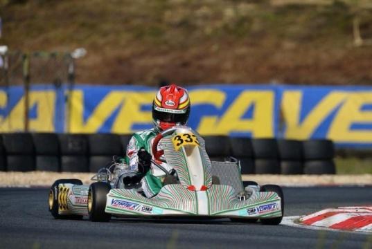 Kart Grand Prix France de KZ2 esquivo para los pilotos españoles