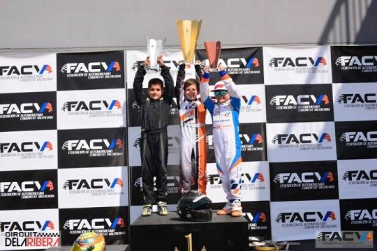 Karting Regional: el CKCV supera su ecuador en La Ribera