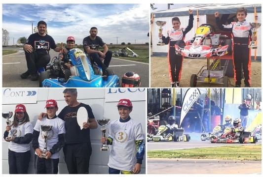 Fin de fiesta para el Campeonato de Karting de Castilla y León