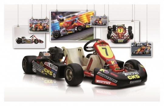 Karts legendarios - Tecno SS22 de Jenson Button
