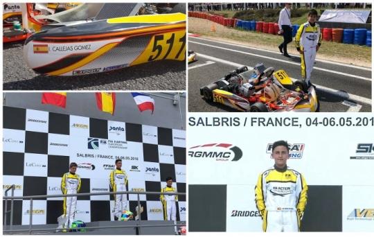 CIK-FIA Academy Trophy - Mari Boya brilla y vence en Salbris