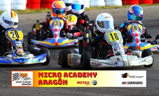 La Rotax Academy 2018 dentro de la categoría Micro en las Series Rotax