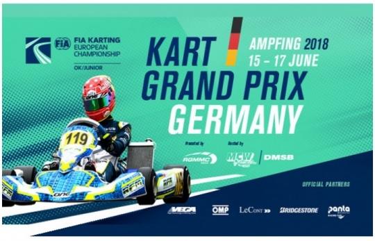 El Europeo CIK-FIA de OK y OKJ a por su paso de ecuador en Ampfing