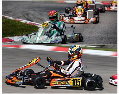 Kart GP Germany OK - Luces y sombras para los nuestros en Ampfing