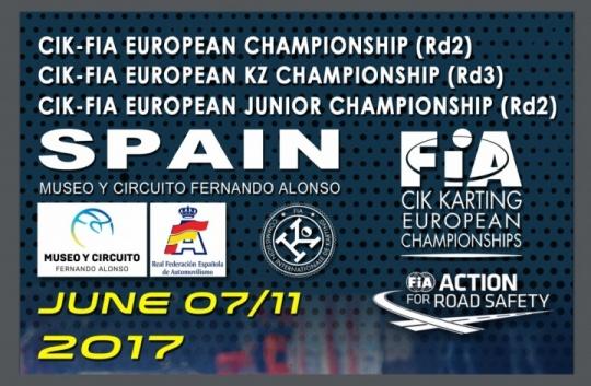 El Campeonato de Europa CIK-FIA en Asturias