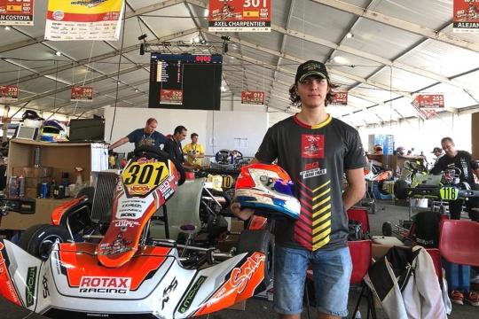 Objetivo Rotax Grand Finals - Axel Charpentier