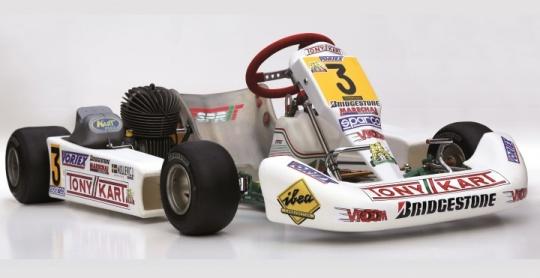 Karts de leyenda - Tony Kart Esprit de Johnny Mislijevic