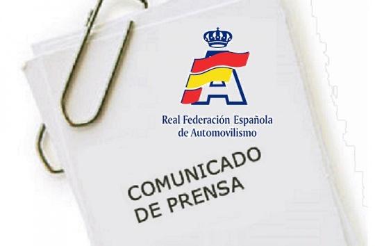 Comunicado RFEDA - Familia Basurto Movilla