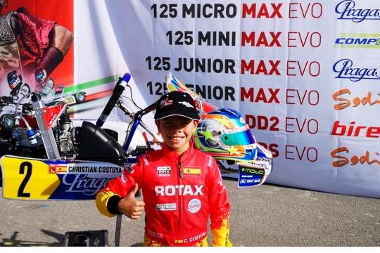 Objetivo Rotax Grand Finals - Christian Costoya