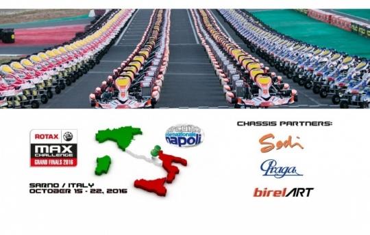 BirelART, Praga y Sodikart proveedores oficiales de las Rotax Grand Finals 2016
