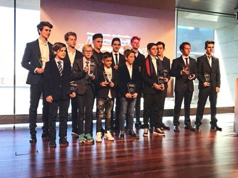 El karting en la Gala de Campeones de la RFEdA 2017