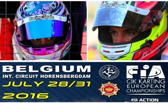 Campeonato de Europa CIK-FIA en Genk. El karting español con opciones de título
