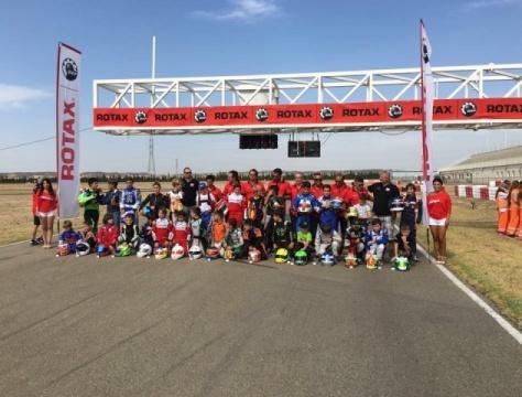 Alejandro Bogdan y Carles Martínez se imponen en el Rotax Grand Festival