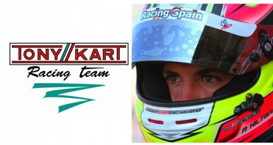 Ya es oficial: Pedro Hiltbrand correrá con Tony Kart