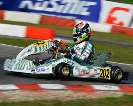 WSK Open Cup - Hiltbrand a 157 milésimas del podio en su vuelta a Tony Kart