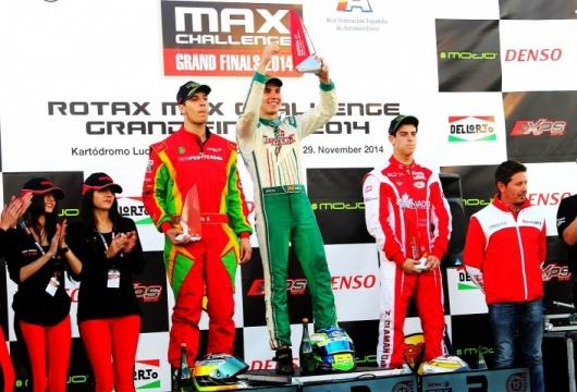 Carlos Gil ganador de las Rotax Grand Finals 2014
