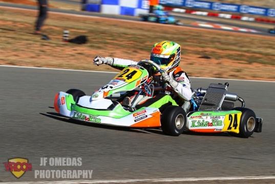 Iame Winter Cup Junior - Mari Boya imbatible en el Kartodromo de Valencia