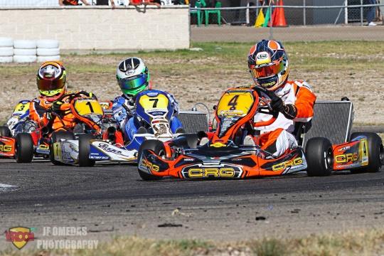 CEK KZ2 - Título impecable para Pedro Hiltbrand, Daniel Maciá subcampeón