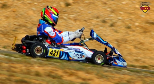 EKR Kart Racing - La hora del debut internacional