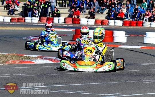 Iame Winter Cup Senior - Remontada espectacular de los pilotos españoles