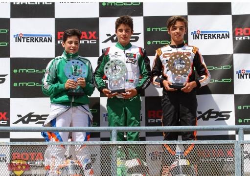 Series Rotax Junior - Guilherme de Oliveira vence en su duelo con Adrián García
