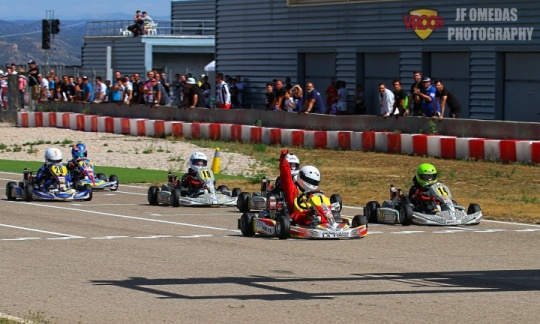 La Rotax Micro Academy ofrece espectáculo en Motorland