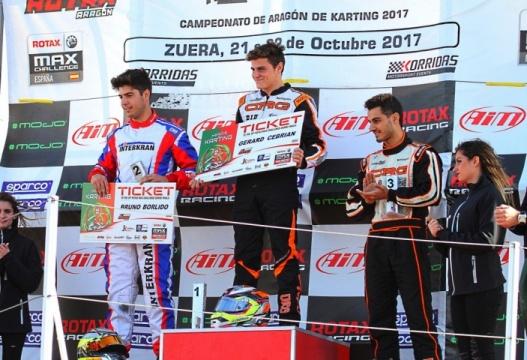 Series Rotax DD2 - Gerard Cebrián campeón, Carlos Dembilio se impone en carrera 2
